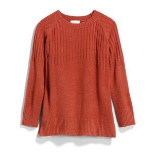 Sophie Rue light orange sweater